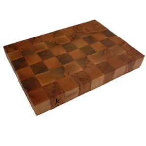 Chequered End Grain Chopping Board
